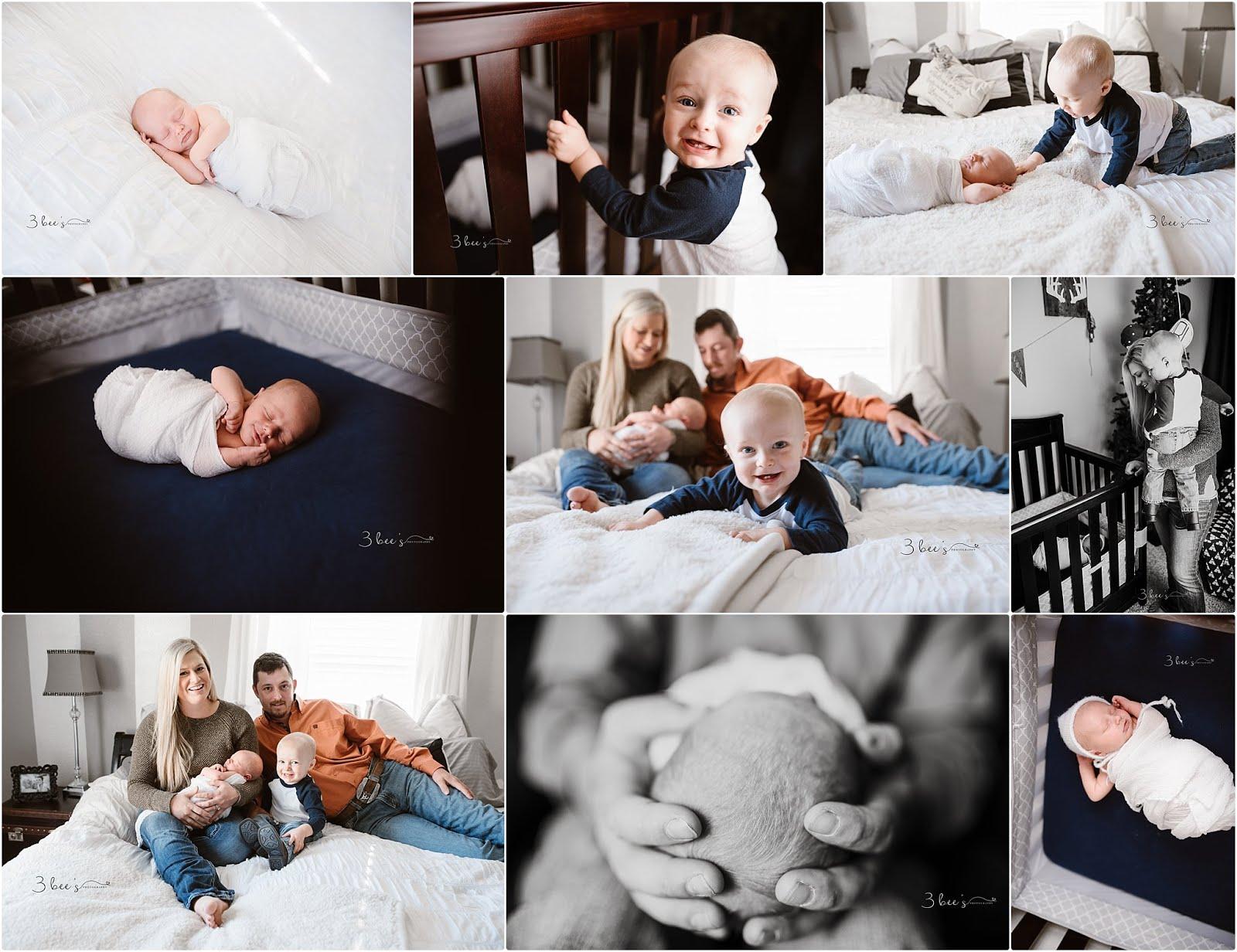 Luke – Lifestyle Newborn Photographer | Fayetteville, AR